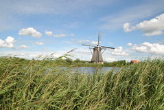 Ανεμόμυλοι Kinderdijk 2 Στοκ φωτογραφία με δικαίωμα ελεύθερης χρήσης