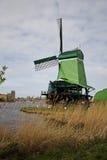 Ανεμόμυλοι Zaanse Schans, Κάτω Χώρες Στοκ Φωτογραφία