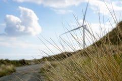 Ανεμόμυλος στην παραλία Στοκ φωτογραφία με δικαίωμα ελεύθερης χρήσης
