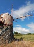 Ανεμόμυλος στις Αζόρες Στοκ εικόνα με δικαίωμα ελεύθερης χρήσης