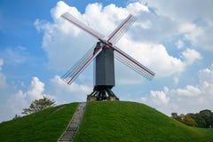 Ανεμόμυλος στο Μπρυζ Στοκ εικόνες με δικαίωμα ελεύθερης χρήσης