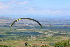 Ανεμόπτερο στην κεντρική Βουλγαρία στοκ φωτογραφία με δικαίωμα ελεύθερης χρήσης