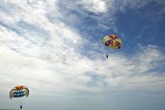 Ανεμόπτερο στην παραλία το Monpiche στοκ εικόνες