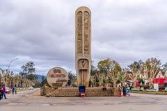 Ανεξάρτητο μνημείο στην πόλη Antsirabe Στοκ φωτογραφία με δικαίωμα ελεύθερης χρήσης