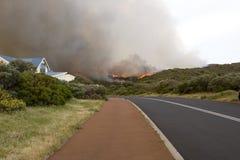 ανεξέλεγκτη δασική φωτιά &p στοκ εικόνες με δικαίωμα ελεύθερης χρήσης