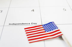 ανεξαρτησία ημέρας Στοκ Εικόνες