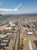 Ανερχόμενος στον ουρανό του Phoenix, AZ στοκ φωτογραφία