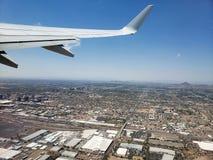 Ανερχόμενος στον ουρανό του Phoenix, AZ στοκ φωτογραφία με δικαίωμα ελεύθερης χρήσης