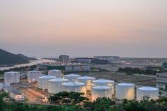 Ανεφοδιασμός σε καύσιμα σύνθετος στον αερολιμένα 2010 του HK στοκ φωτογραφίες με δικαίωμα ελεύθερης χρήσης