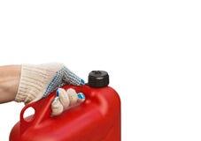 Ανεφοδιασμός σε καύσιμα της βενζίνης Στοκ φωτογραφία με δικαίωμα ελεύθερης χρήσης