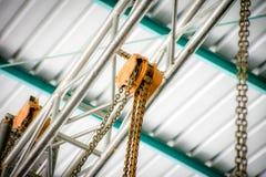 Ανελκυστήρας αλυσίδων Στοκ φωτογραφία με δικαίωμα ελεύθερης χρήσης