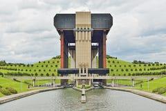 Ανελκυστήρας βαρκών strepy-Thieu Στοκ φωτογραφίες με δικαίωμα ελεύθερης χρήσης