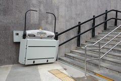 Ανελκυστήρας για τα άτομα με ειδικές ανάγκες Στοκ Εικόνες