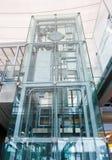 Ανελκυστήρας γυαλιού Στοκ φωτογραφίες με δικαίωμα ελεύθερης χρήσης