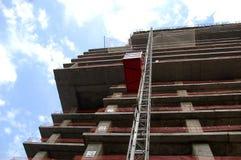 Ανελκυστήρας κατασκευής Στοκ Εικόνα
