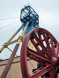 Ανελκυστήρας του ορυχείου Στοκ Εικόνες