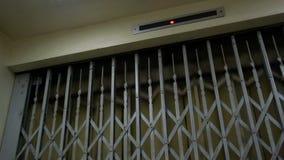 Ανελκυστήρας φορτίου εργοστασίων απόθεμα βίντεο