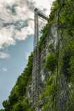 Ανελκυστήρας Hammetschwand κοντά Luzern Στοκ εικόνα με δικαίωμα ελεύθερης χρήσης