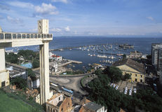 Ανελκυστήρας Lacerta, Sarvador, Βραζιλία Στοκ εικόνες με δικαίωμα ελεύθερης χρήσης