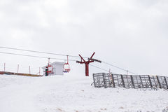 Ανελκυστήρες εδρών, cota 2000, Sinaia Στοκ Εικόνες