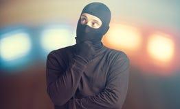 Ανησυχημένος εγκληματίας Στοκ φωτογραφία με δικαίωμα ελεύθερης χρήσης