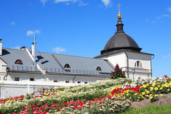 Ανθίζει κοντά στο μοναστήρι Στοκ Εικόνες