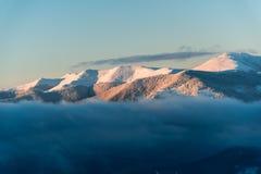 ανθίστε το χρονικό χειμώνα χιονιού Στοκ εικόνα με δικαίωμα ελεύθερης χρήσης