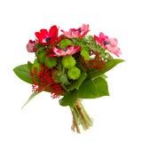 Ανθοδέσμη με τα λουλούδια anemone Στοκ φωτογραφία με δικαίωμα ελεύθερης χρήσης