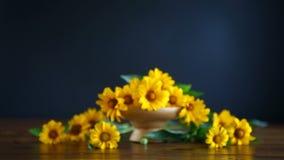 Ανθοδέσμη των κίτρινων μεγάλων μαργαριτών