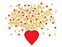 Ανθοδέσμη των καρδιών Στοκ φωτογραφία με δικαίωμα ελεύθερης χρήσης