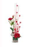 Ανθοδέσμη των κόκκινων ροδαλών λουλουδιών στοκ εικόνα με δικαίωμα ελεύθερης χρήσης