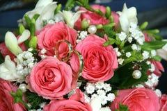 Ανθοδέσμη των τριαντάφυλλων Στοκ Φωτογραφίες