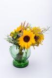 ανθοδέσμες των λουλουδιών και των χορταριών Στοκ φωτογραφία με δικαίωμα ελεύθερης χρήσης