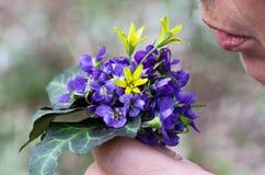 Ανθοδέσμη άνοιξη των λουλουδιών Στοκ Εικόνες
