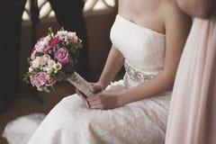 Ανθοδέσμη ημέρας γάμου στοκ φωτογραφίες
