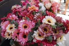 Ανθοδέσμη λουλουδιών υφάσματος Στοκ εικόνες με δικαίωμα ελεύθερης χρήσης