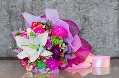 Ανθοδέσμη λουλουδιών Στοκ Εικόνες