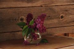 Ανθοδέσμη της πασχαλιάς στα βάζα γυαλιού στοκ φωτογραφία με δικαίωμα ελεύθερης χρήσης