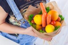 Ανθοδέσμη των λαχανικών και των φρούτων Στοκ φωτογραφίες με δικαίωμα ελεύθερης χρήσης
