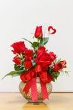Ανθοδέσμη των κόκκινων τριαντάφυλλων Στοκ φωτογραφία με δικαίωμα ελεύθερης χρήσης