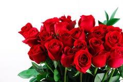 Ανθοδέσμη των κόκκινων τριαντάφυλλων Στοκ εικόνες με δικαίωμα ελεύθερης χρήσης