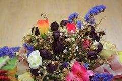 Ανθοδέσμη των ξηρών λουλουδιών για το γάμο στοκ εικόνες