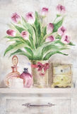 Ανθοδέσμη των λουλουδιών Στοκ Εικόνα
