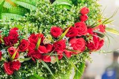 Ανθοδέσμη των ρυθμίσεων λουλουδιών για τη διακόσμηση στοκ εικόνες με δικαίωμα ελεύθερης χρήσης