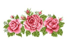 Ανθοδέσμη των τριαντάφυλλων Στοκ εικόνα με δικαίωμα ελεύθερης χρήσης
