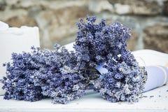 Ανθοδέσμη lavender των λουλουδιών Στοκ Εικόνες