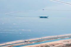 Ανθρακικό κάλιο μεταλλείας πακτώνων από τη νεκρή θάλασσα στοκ εικόνα με δικαίωμα ελεύθερης χρήσης