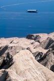 Ανθρακικό κάλιο μεταλλείας πακτώνων από τη νεκρή θάλασσα στοκ εικόνα