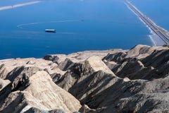 Ανθρακικό κάλιο μεταλλείας πακτώνων από τη νεκρή θάλασσα στοκ εικόνες