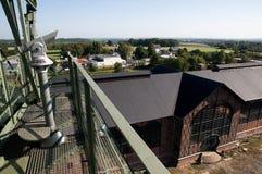 Ανθρακωρυχείο Zollern - είσοδος ενός καταστήματος μηχανών Nouveau τέχνης Στοκ φωτογραφία με δικαίωμα ελεύθερης χρήσης